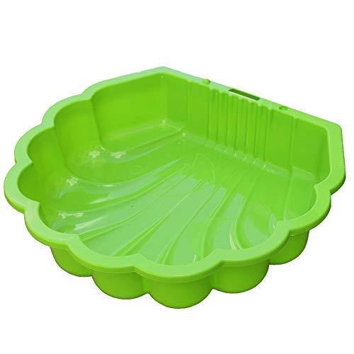 TikTakToo Sand & und Wassermuschel I Sandkasten ohne Abdeckung (1-teilig) I (apfelgrün)