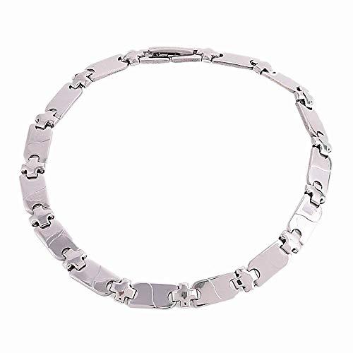 Silber Farbe Edelstahl Armband Kreuzkette Armband Armband Für Frau Männer Mode Christian Armband Schmuck