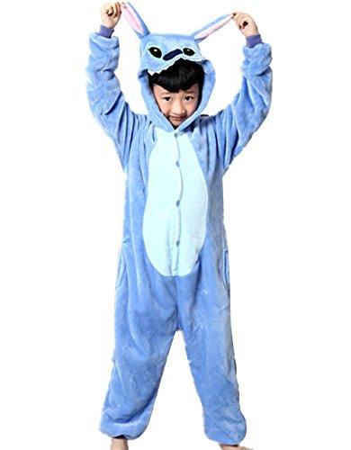 mauea Animaux Pyjama Ensemble Enfants Unisexe Combinaison Cosplay Déguisements Chaud Costume Soirée Halloween