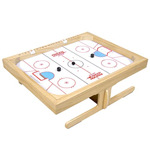 GoSports Magna Hockey Tabletop Board Game  Magnetic Game of Skill for Kids amp Adults White