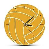 Reloj de Pared con Estampado de Voleibol 3D, Relojes, decoración...