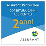 Assurant Protection 2 Anni Copertura Danni accidentali per Un PC Portatile da...