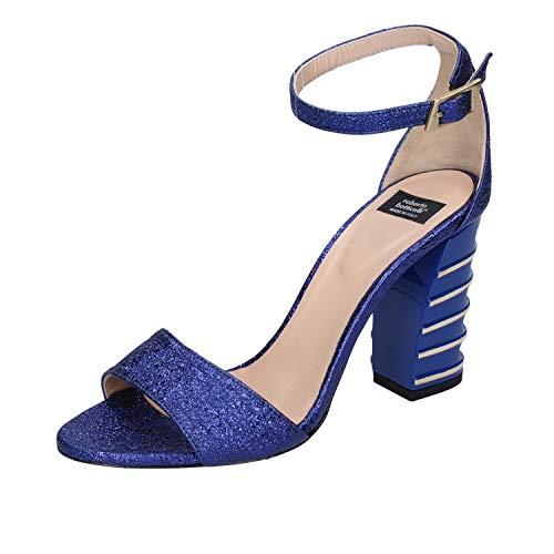 ROBERTO BOTTICELLI Sandalias Mujer Cuero Azul