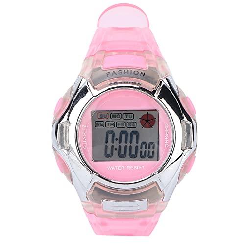 SALUTUY Reloj Impermeable para Niños, Apariencia De Moda Reloj Deportivo Digital para Niños Lámpara Diseño Impermeable para Niños
