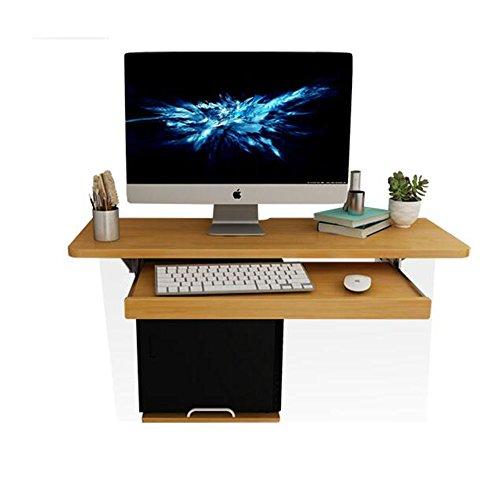 FEI Ordinateur portable portatif mural Bureau d'ordinateur Bureau en bois Ordinateur portable étudiant table de lecture (taille : 120cm)