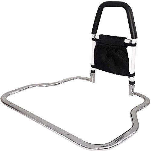 Medokare Bed Rails for Elderly - Hospital Grade Safety Bed Rail for Adults Seniors, Bed Side Handrail, Senior Adult Handrail for King Queen Twin Size Bed, Handicap Bed Assist Rail (Bed Rail w Bag)