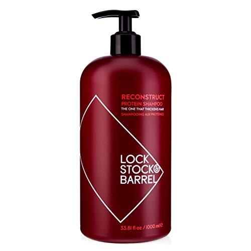 Lock Stock & Barrel Reconstruct Protein Thickening Shampoo For Men 1000 ml