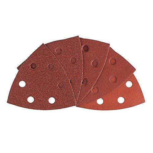 Bosch Professional 2608607540 Schleifzubehör 10 St. Schleifpapier Set Red Wood T, 93mm