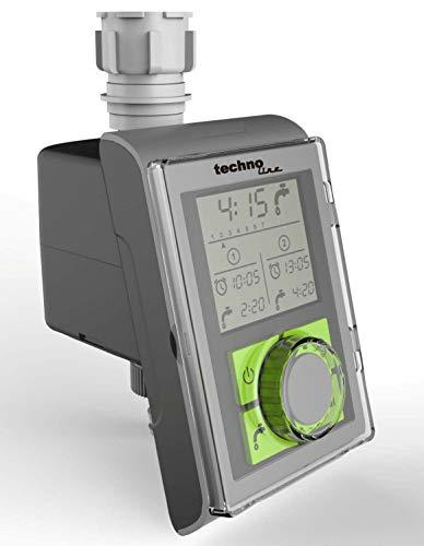 Technoline WZ 1000 Bewässerungscomputer Wasserzeitschaltuhren Bewässerungstimer