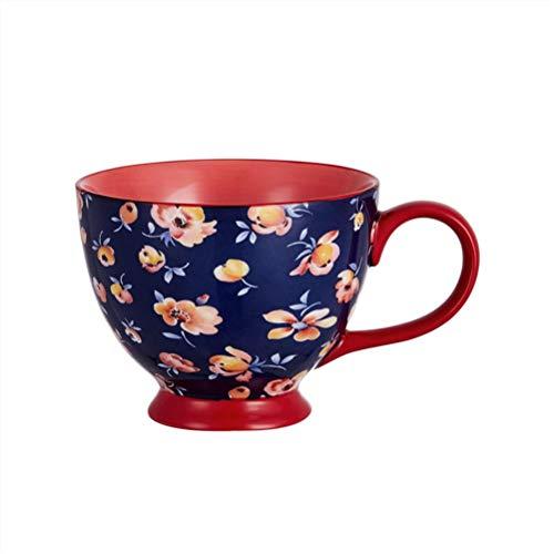 JJIU Mode 400ML Utsökt Benporslin Kaffekopp, Kaffekopp, Mjölkkopp AV Hög Kvalitet