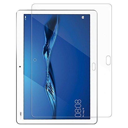 Lobwerk 2X Klarsicht Folien für Huawei MediaPad M3 Lite 10 Bildschirmfolie Schutzfolie blasenfrei