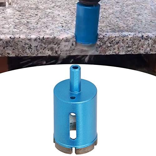 Broca de diamante, cortador de sierra perforadora de alta eficiencia Sierra perforadora de mármol de alta eficiencia Taladro eléctrico manual con orificio de viruta ovalado(40mm)