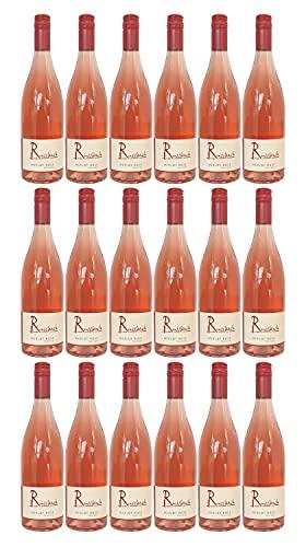 Russbach Merlot Rosé trocken, Weingut Russbach, Eppelsheim, Rheinhessen, Jahrgang 2020 (18 x 0,75 l)