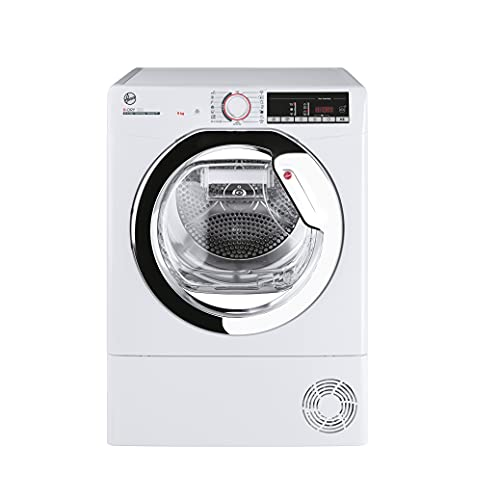 Hoover H-Dry 300 HLEH9A2TCE Freestanding Heat Pump Tumble Dryer, A++, 9 kg Load, White