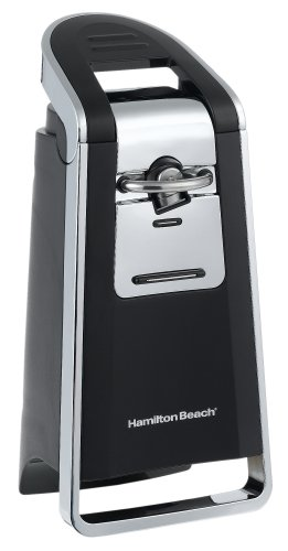Hamilton Beach 76606Z Smooth Touch Can Opener, Black and...