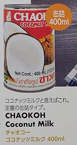 チャオコー ココナッツミルク 400ml×24本 業務用