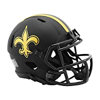 Riddell New Orleans Saints Helmet Replica Mini Speed Style Eclipse Alternate