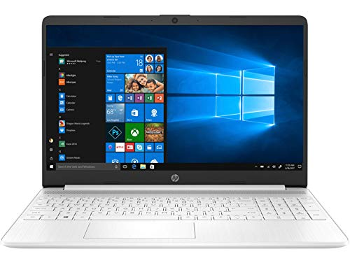 HP 15s-eq0004ns - Ordenador portátil de 15.6' HD (AMD Ryzen 3 3200U, 8 GB RAM, 256 GB, AMD Radeon Vega 3, Windows 10 Home) Blanco - Teclado QWERTY Español
