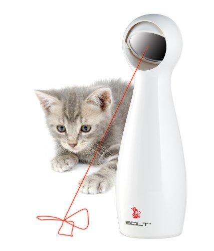 PetSafe Stimulating Exercise Laser Cat Toy, Adjustable