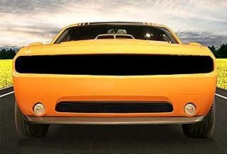 ShopDone Fits 11-2014 Dodge Challenger Lower Bumper 1PC Bolton Black Billet Grille Grill Inser