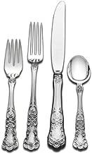 Gorham Buttercup 4-Piece Sterling Silver Flatware Dinner Set, Service for 1