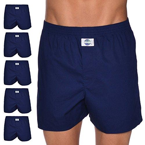 D.E.A.L International 5er-Set Boxershorts, Navy Size XL