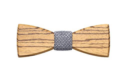 BeWooden | Holzfliege Dolor | Einzigartiges Design | Hergestellt im Herzen Europas | Querbinder Schleife Mascherl | Handgefertigt