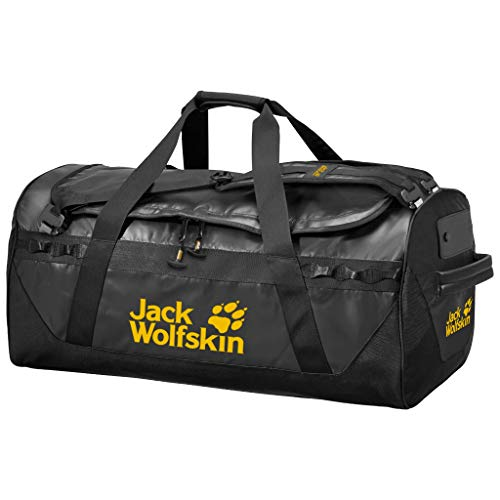 Jack Wolfskin Herren Reisegepäck Expedition Trunk 130, Black, One Size