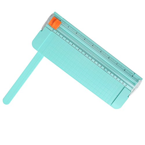 Work4U 9 Inch Paper Trimmer, A5 Portable Scrapbooking Trimmer, Green