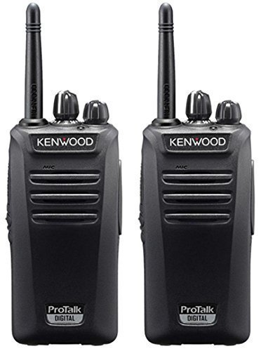 Kenwood TK3401D Protalk Digital PMR446 Lizenz Two Way Radio mit 2Pack