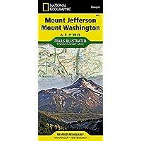Mount Jefferson Mount Washington (National Geographic Trails Illustrated Map)【洋書】 [並行輸入品]