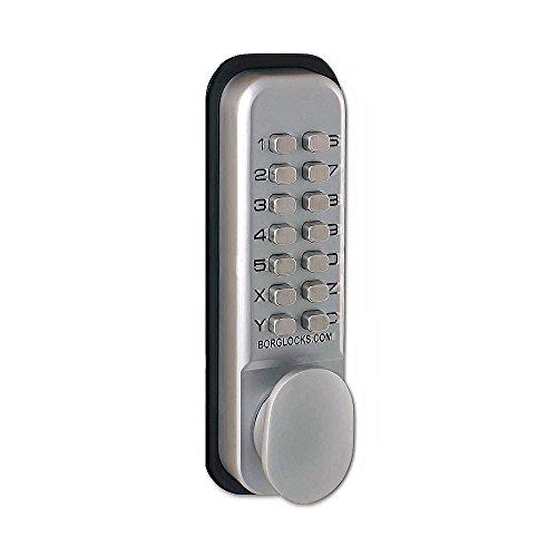 Borg 2201 - serratura con codice a pulsanti, con maniglia...