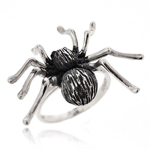 Sovats Bague araignée Bague Argent Femme 925, Taille 50