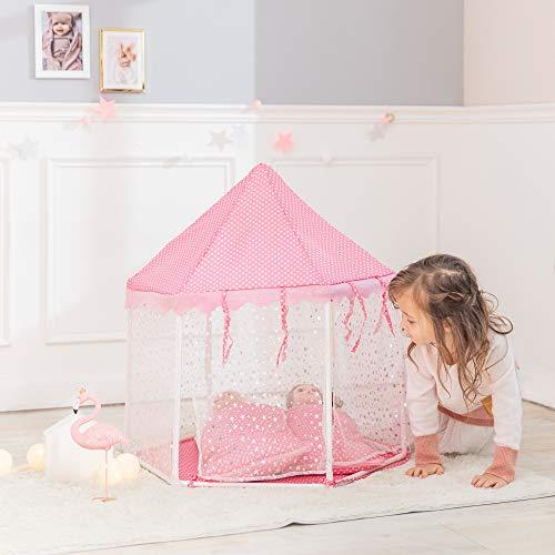 Olivia's Little World Accessoires de poupée Tente avec 2 Sacs de Couchage Jouet pour Enfant TD-13029A