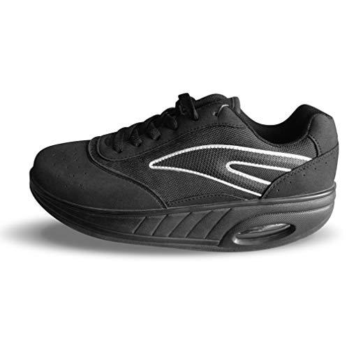 Win Direct Męskie buty do biegania 50002375201086, Negro, 44 EU