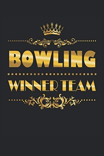 Bowling Winner Team: Bowling Sieger Mannschaft Geschenke Notizbuch liniert (A5 Format, 15,24 x 22,86 cm, 120 Seiten)