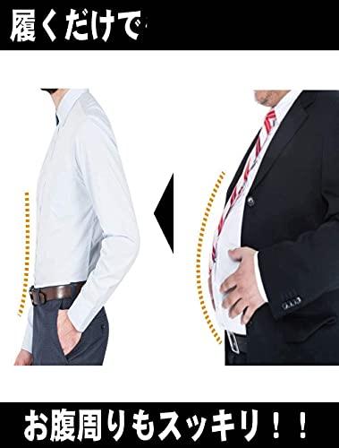 『NOSTEEZ 加圧スパッツ メンズ 股開きタイプ いつものパンツを変えるだけ ダイエット (黒, M)』の6枚目の画像