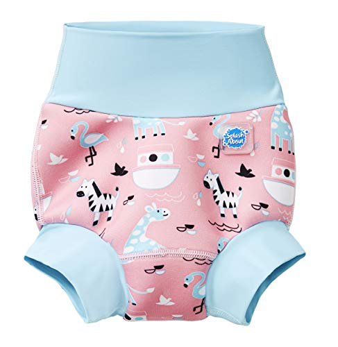 Splash About Happy Nappy Pañal de Baño Reutilizable - Nina's Ark 3-6 Meses
