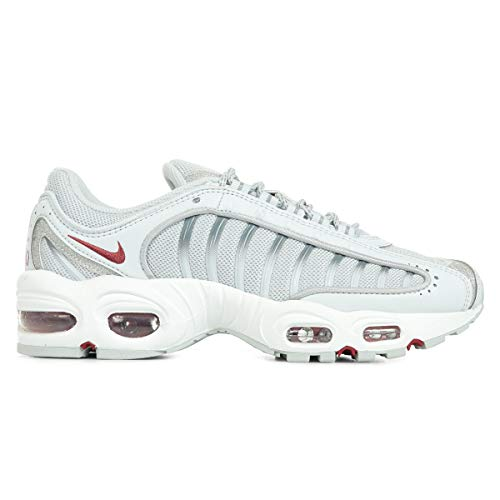 Nike Womens Air Max Tailwind IV Running Trainers CT3431 Sneakers Shoes (UK 6.5 US 9 EU 40.5, Pure Platinum Silver 001)