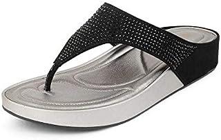 tresmode Women Fashion Slippers | Footwear Flat Sandals for Girls
