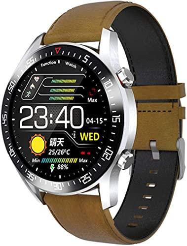 MXchen Smart Watch Men's Women's Impermeable Moda Pulsera Fitness Tracker Tasa del corazón Bluetooth Deportes Smartwatch para iOS Android Teléfono