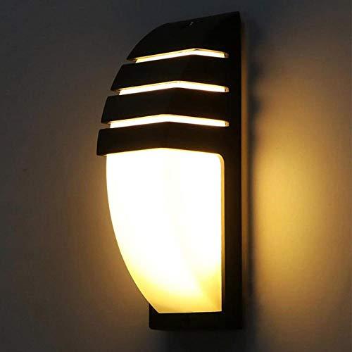 Lámpara De Pared Led De Ahorro De Energía Protección Del Medio Ambiente Exterior Exterior Lámpara De Pared Decoración Interior Iluminación Lámpara De Pared Jardín Lámpara-E Luz Cálida