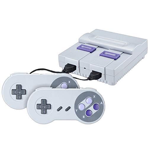 Mini console de jeu rétro classique, sortie HD 8 bits jeu vidéo intégré 821 jeux avec 2 contrôleurs classiques