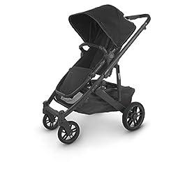 Cruz V2 Stroller – Jake (Black/Carbon/Black Leather)