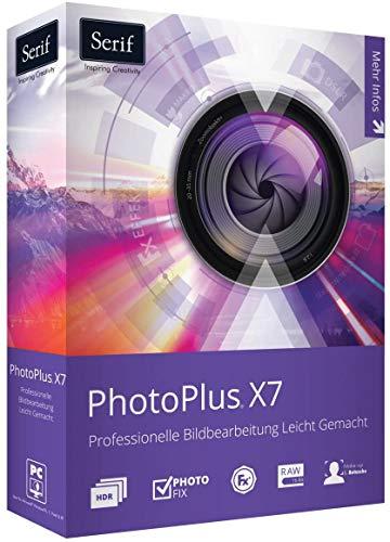 Serif PhotoPlus X7 + InPixio Bilder Vergrößern Software als Bundle