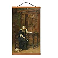 エベレットミレー《刑務所のエリザベス王女、1879》帆布の絵の壁の装飾家の装飾額縁70X50Cm