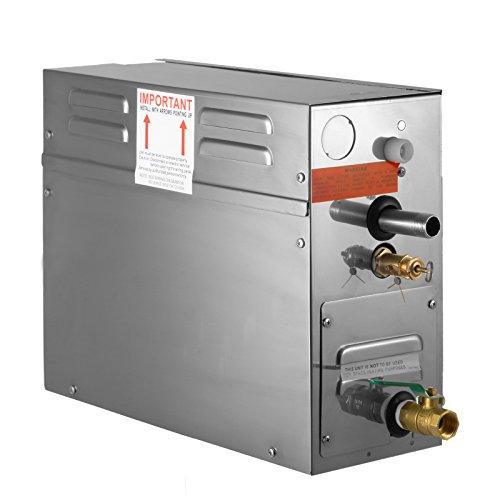 BuoQua 6KW Generatore Di Vapore Sauna Home Spa Doccia Generatore Di Vapore Per Bagno Turco Di Piccolo Volume Con Controller Digitale