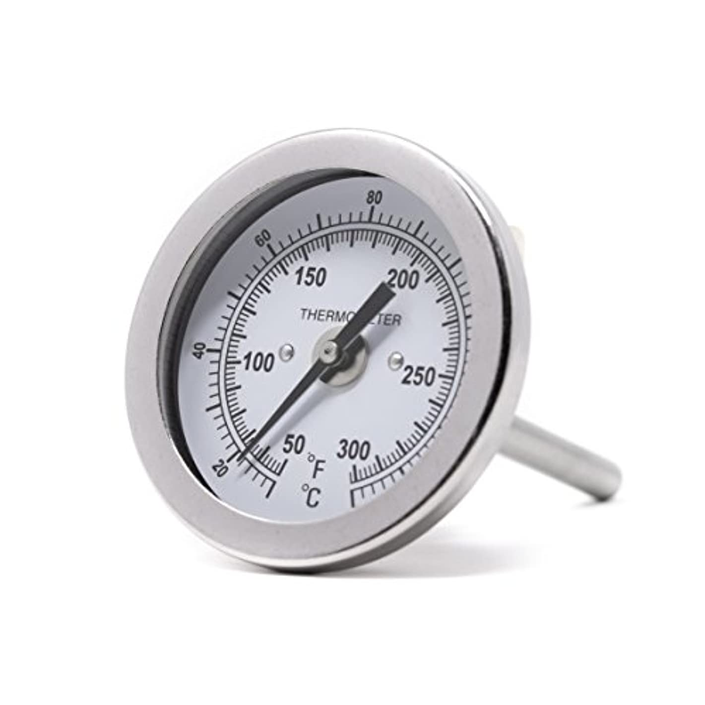 """PIC Gauge B2B2-MM 2"""" Dial Size, 50/300°F and 10/149°C, 2"""