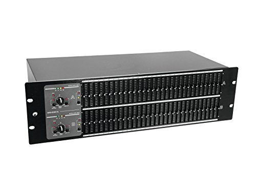 Cheapest Prices! OMNITRONIC GEQ-2310XL Equalizer 2x31-Band