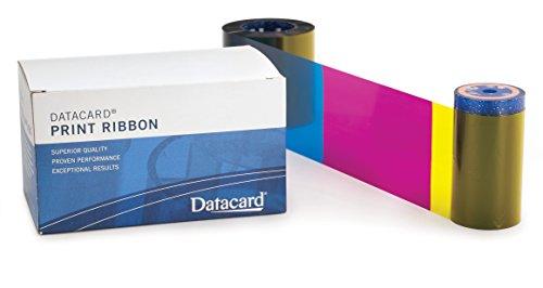 Datacard YMCKT-K Farbband 534700-005-R010 – 350 Drucke Geeignet für Datacard SD360 und SD460 Drucker (ersetzt 534000-007 für SD360 & SD460)